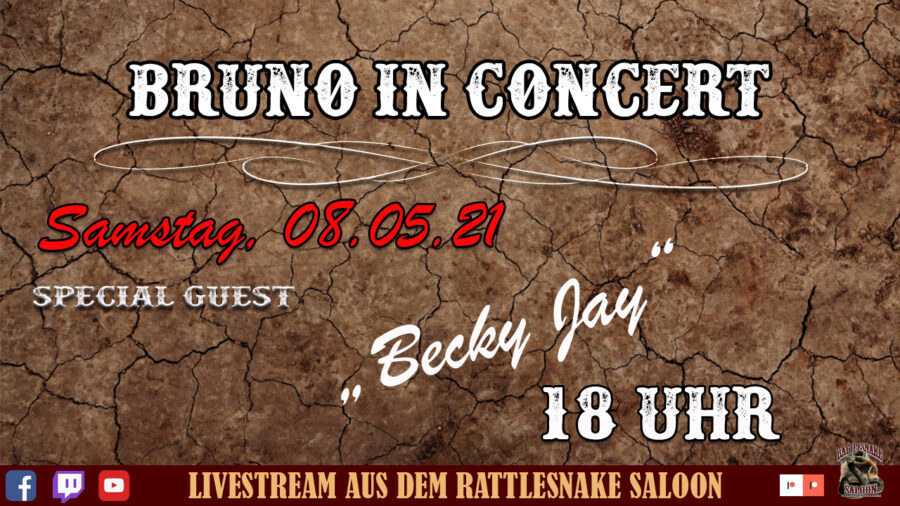 Bruno in Concert Becky Jay