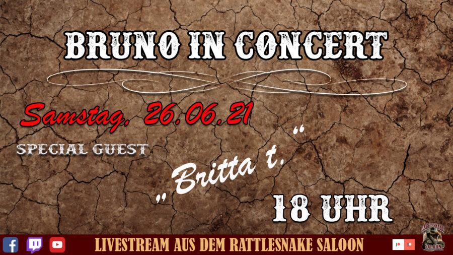 Bruno in Concert Britta T