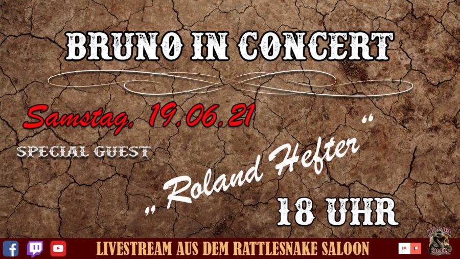 Bruno in Concert Hefter